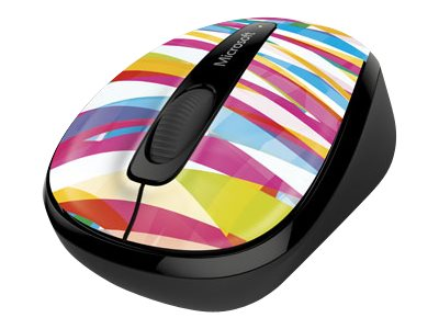 Microsoft Wireless Mobile Mouse 3500 Limited Edition, Bandage Stripes, GMF-00403, 17918871, Mice & Cursor Control Devices