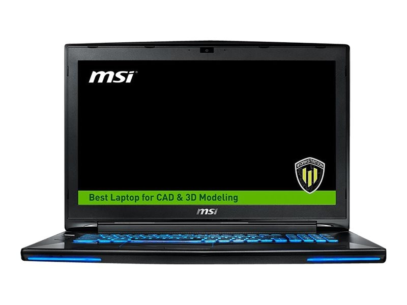 MSI WT72 6QN-218US Mobile Workstation Core i7-6920, WT72 6QN-218US