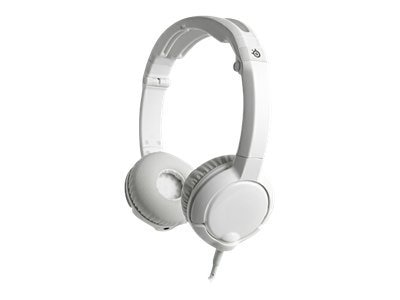 Steelseries Flux Headset, White, 61279, 14603996, Headsets (w/ microphone)