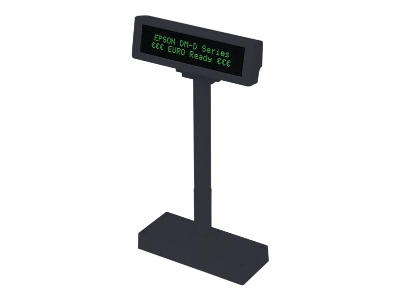 Epson DM-D210-111 Pole Display Dark Gray (Base not Included), B134111, 6313446, POS Pole Displays