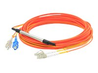 ACP-EP LC-SC OM1 Duplex LSZH Mode Conditioning Cable, Orange, 5m, CAB-MCP-LC-5M-AO, 31065886, Cables