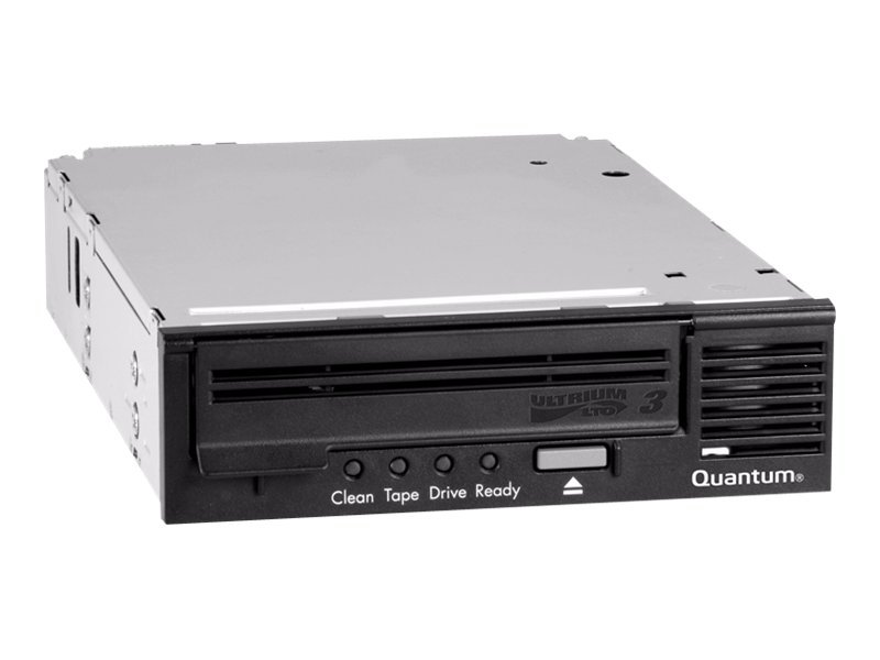 Quantum LTO-3 HH Model B SAS 5.25 Internal Drive - Black (Bare), TC-L32AN-BR-B, 11157492, Tape Drives