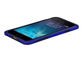 Macally Plastic Polycarbonate Case for iPhone 6, Blue, IRONP6MBL, 31201972, Carrying Cases - Phones/PDAs