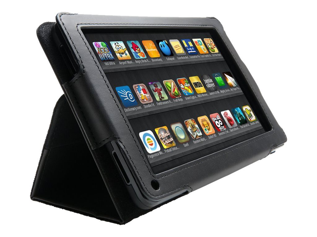 Kensington Folio Case and Stand for Kindle Fire, Black, K39589WW