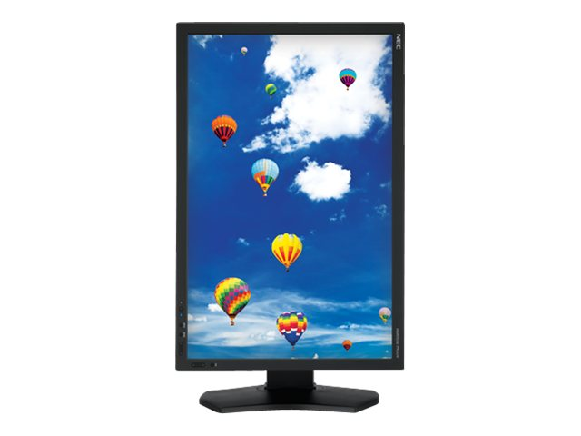 NEC 24 PA242W-BK LED-LCD Monitor, Black