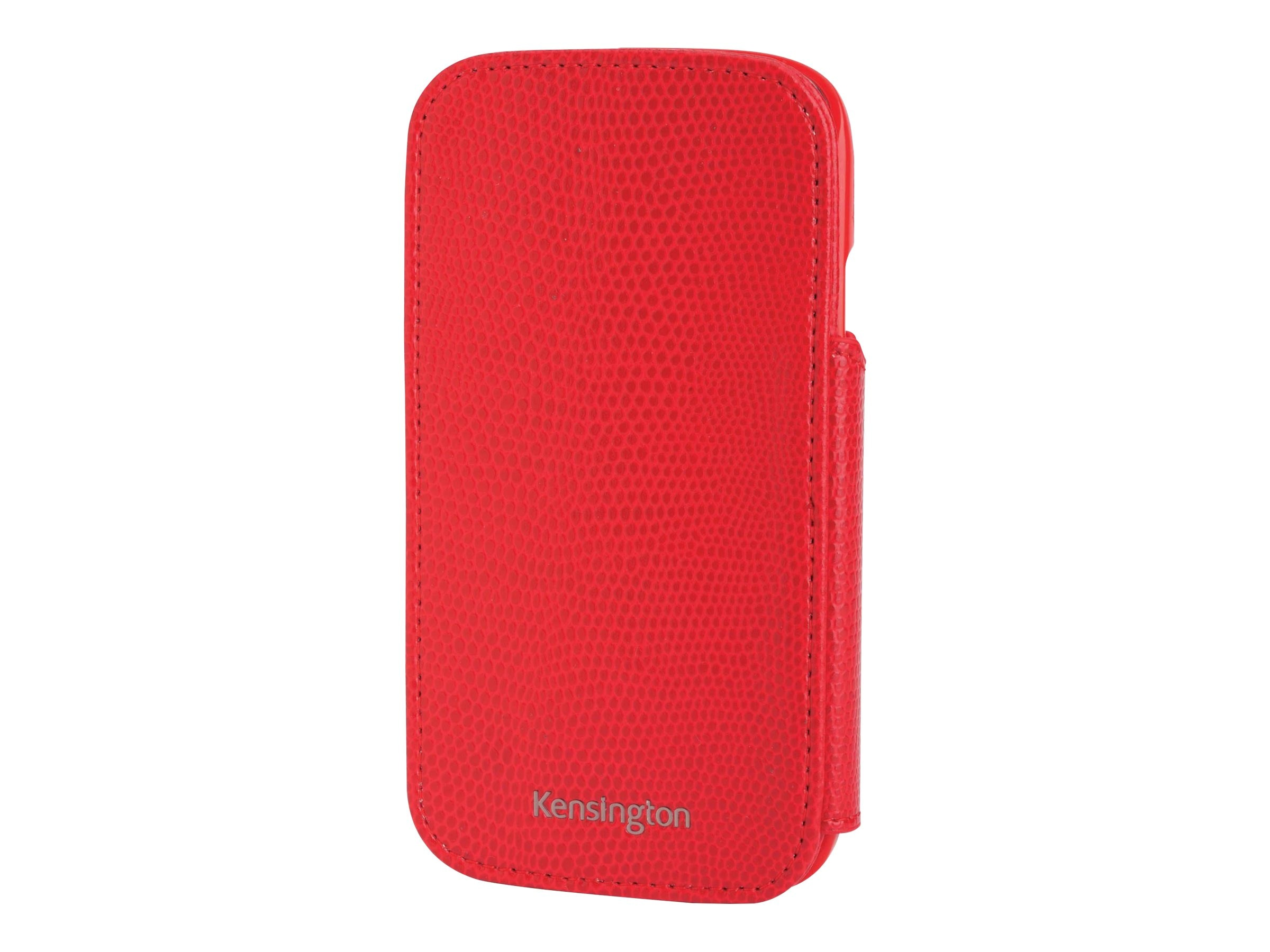Kensington Portafolio Duo Wallet for Samsung Galaxy S III, Red Snake