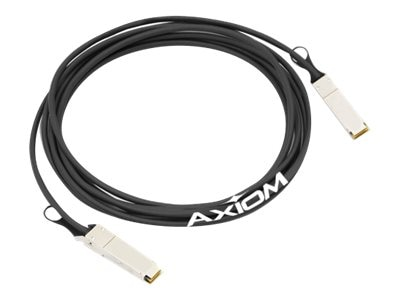 Axiom 40GBASE-CR4 QSFP+ Passive Cable, 50ft, EXQSF40GDA50-AX