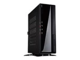 In-win Chassis, Tower, MITX, Black, IW-BQ656T.AD120TBL, 14435822, Cases - Systems/Servers