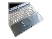 Fujitsu Keyboard Skin, Clear Plastic for T725