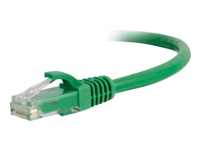 C2G Cat5e Snagless Unshielded (UTP) Network Patch Cable - Green, 8ft
