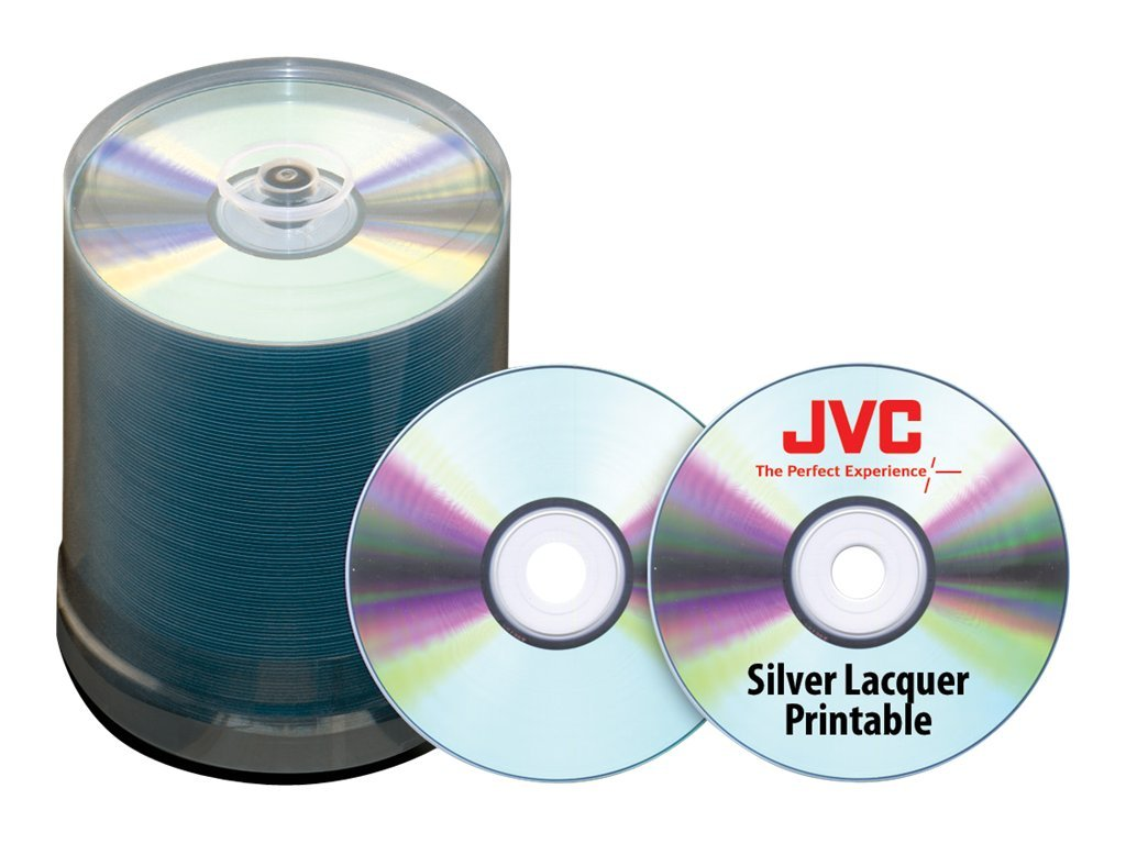 Microboards 52x 80min. JVC Taiyo Yuden Silver Thermal Lacquer CD Media (600-pack), JCDR-ZZ-SB, 13812905, CD Media