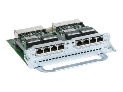 Cisco 8-Port Channelized T1 E1-PRI Network Module, NM-8CE1T1-PRI=, 8272975, Network Device Modules & Accessories