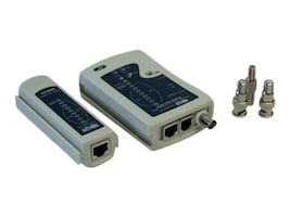 Tripp Lite Multifunctional Network Cable Tester, N044-000-R, 7989026, Network Test Equipment