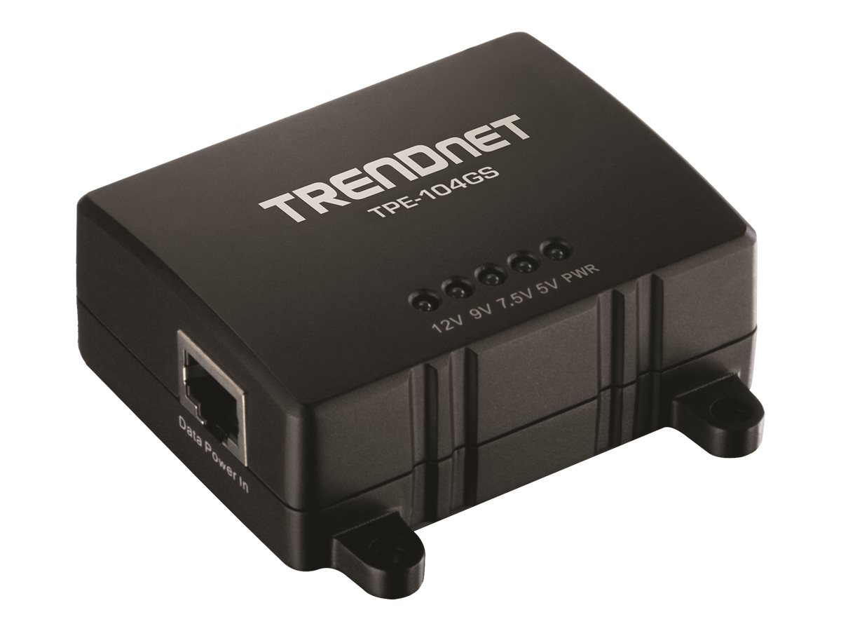 TRENDnet Gigabit PoE Splitter, TPE-104GS