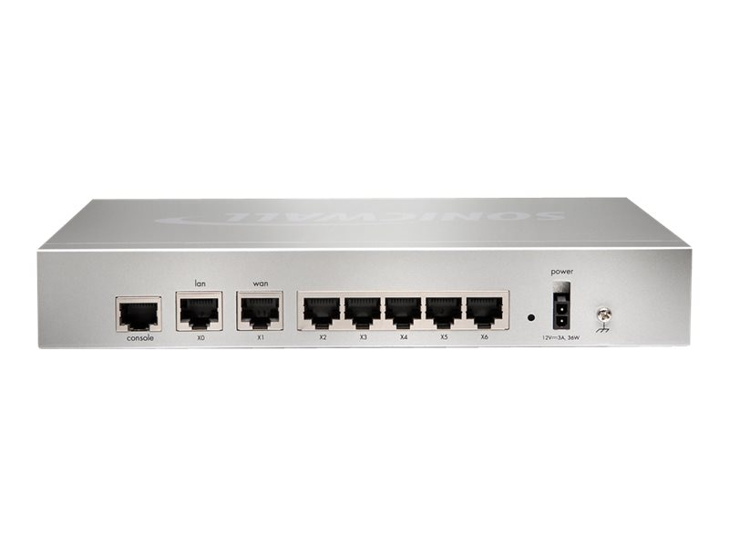 SonicWALL NSA 220 Secure Upgrade 3Yr., 01-SSC-4958, 13365957, Network Firewall/VPN - Hardware
