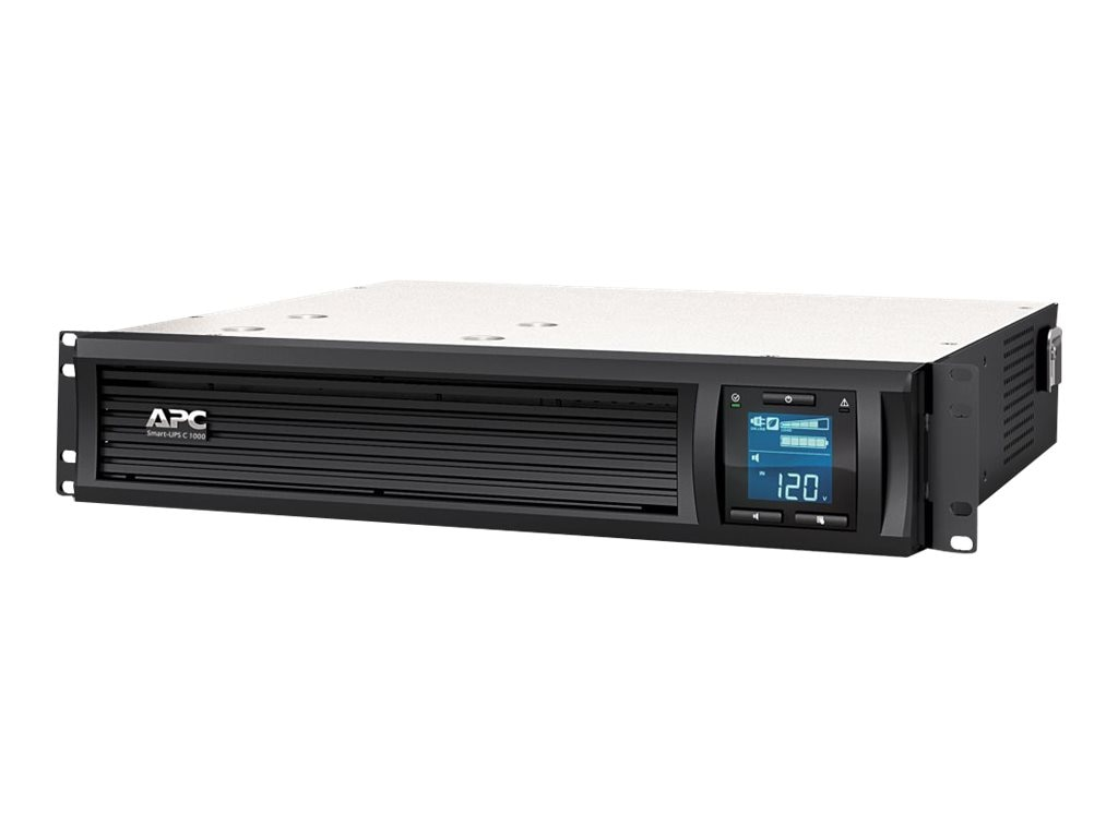 APC Smart-UPS SMC 1000VA 600W 120V 2U Rack-Mount LCD USB UPS, SMC1000-2U, 14008054, Battery Backup/UPS