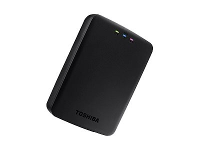 Toshiba 1TB Canvio AeroCast Wireless Portable Hard Drive, HDTU110XKWC1, 18867745, Network Attached Storage
