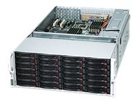 Supermicro SuperChassis 847E16 4U RM (2x)Intel AMD 36x3.5 HS Bays 7xExpansion Slots 7xFans 2x1280W RPS