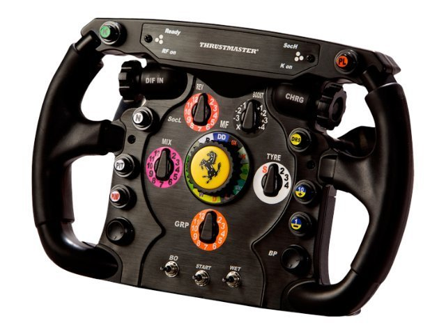Thrustmaster Ferrari F1 Wheel Add On, 4160571, 13230104, Computer Gaming Accessories