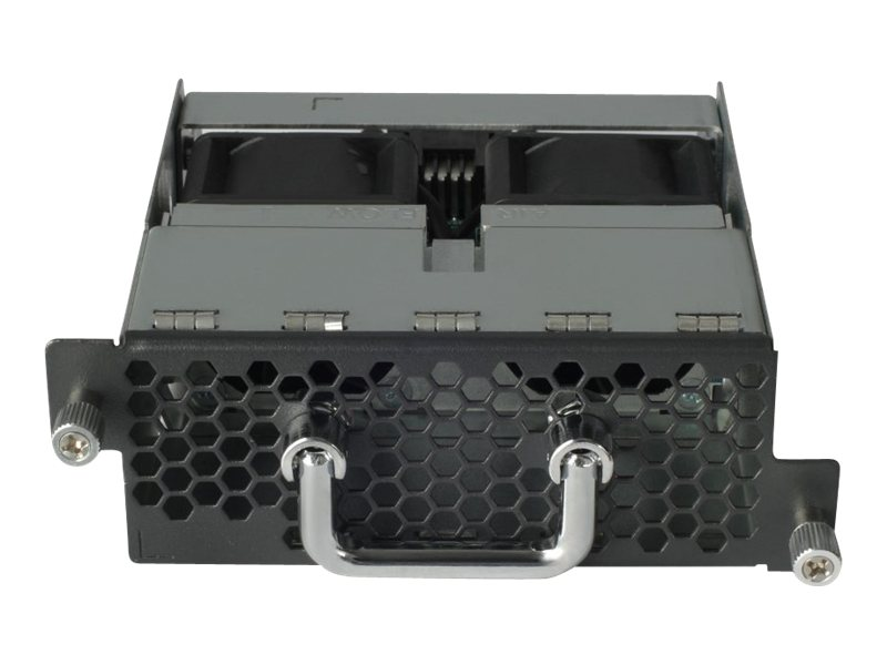 HPE X711 Front (Port Side) to Back (Power Side) Airflow High Volume Fan Tray, JG552A, 15455489, Cooling Systems/Fans