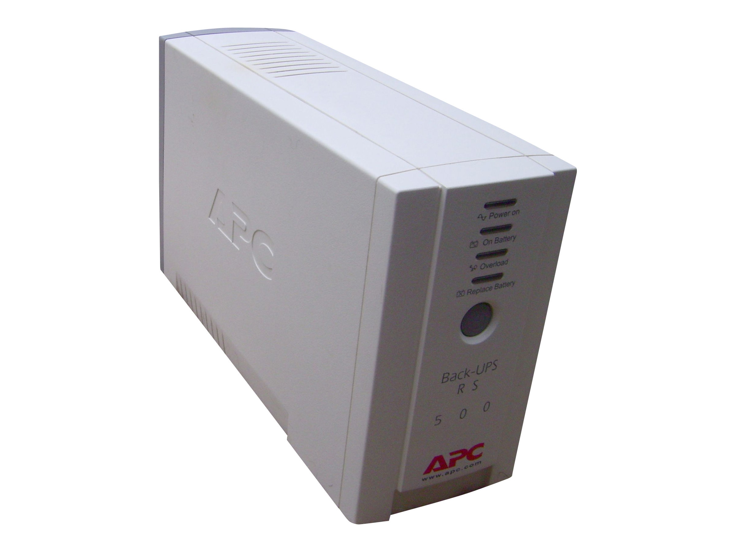 APC Back-UPS CS 500VA 300W Intl 230V UPS (4) C13 Outlets, USB Serial, BK500EI, 246035, Battery Backup/UPS