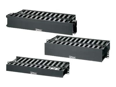 Panduit PatchLink Horizontal Cable Manager, WMPHF2E-KIT, 15230546, Rack Cable Management