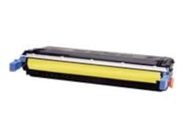 West Point 114535P HP C9732A Yellow Toner Cartridge for HP Color LaserJet 5500 & 5550 Series, C9732A/200061P, 7184033, Toner and Imaging Components