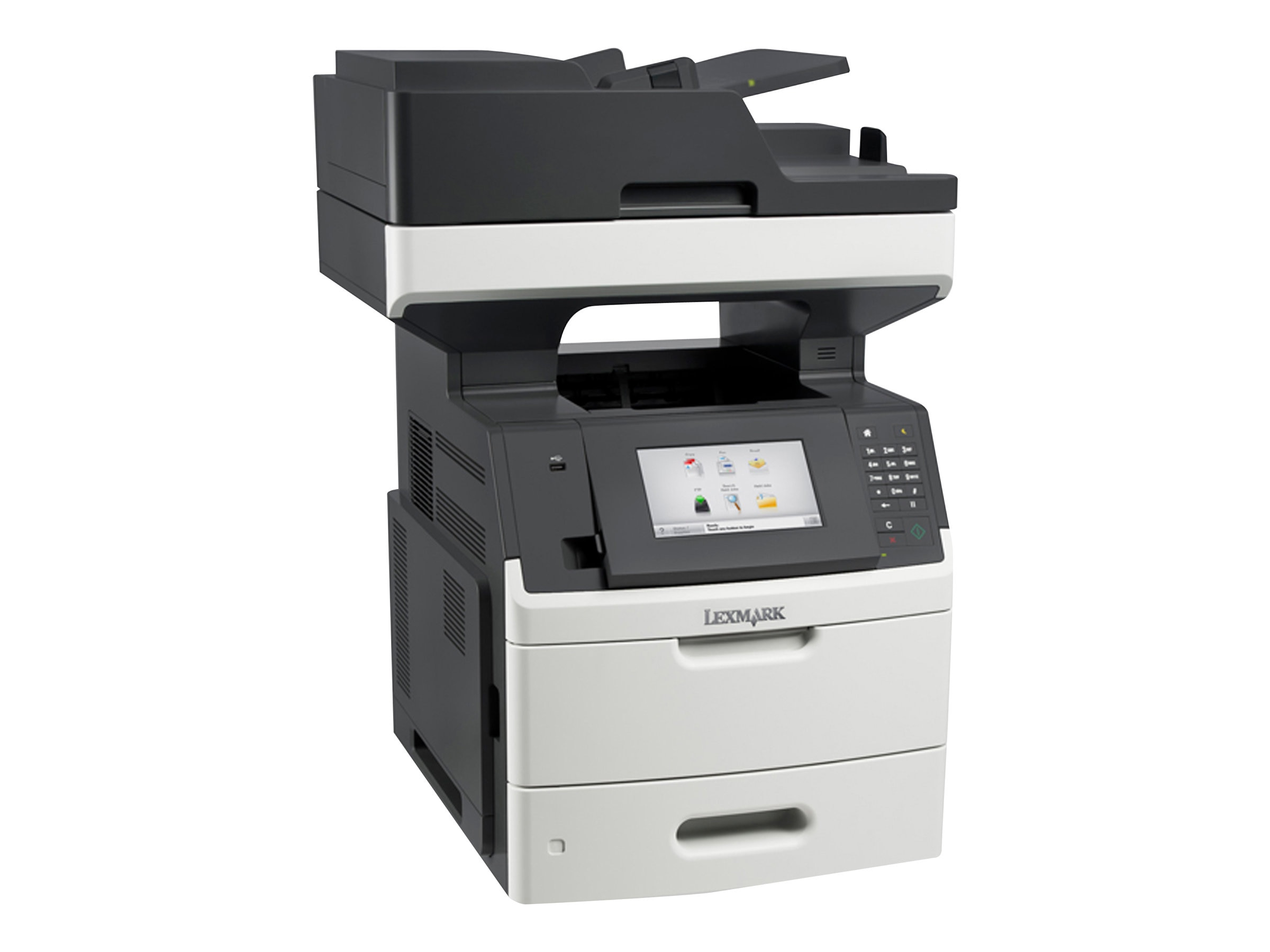 Lexmark MX710de Monochrome Laser Multifunction Printer, 24T7401