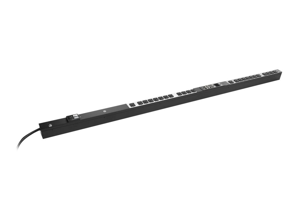 HPE Managed PDU 2.8kVA 120V L5-30P Input (24) NEMA 5-20R Outlets NA JP, H8B48A, 18742651, Power Distribution Units