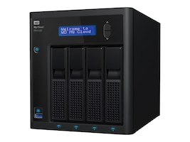 WD 8TB My Cloud Pro Series PR4100 Storage, WDBNFA0080KBK-NESN, 32226506, Network Attached Storage
