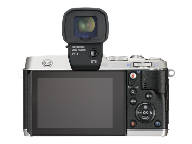 Olympus E-P5 PEN Mirrorless Digital Camera with 17mm f 1.8 Lens and VF-4 Viewfinder, Silver, V204053SU000