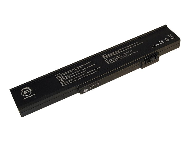 BTI Battery, Lithium-Ion, for Select Gateway M360, M460, NX500S, 6000, 8000, MX6000, MX8000, GT-M360X3, 6931973, Batteries - Notebook