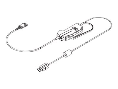 Plantronics USB PTT w  Switch Muting XMTR, 92626-01