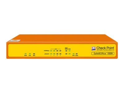 Check Point Software Safe At Office 1000N 5U Appliance, CPSB-1000N-5, 14316655, Network Firewall/VPN - Hardware