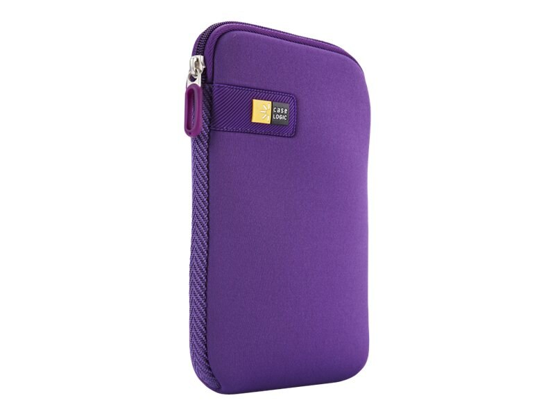 Case Logic 7 Tablet Sleeve, Purple, LAPST-107PURPLE, 15569072, Protective & Dust Covers