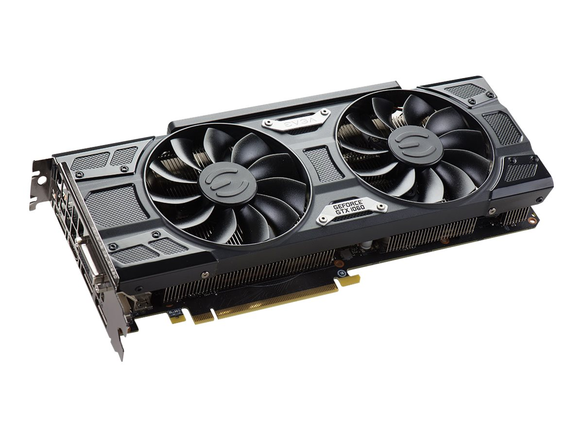 eVGA GeForce GTX 1060 SSC GAMING ACX 3.0 PCIe 3.0 Graphics Card, 6GB GDDR5