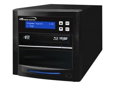 Vinpower ECON Blu-ray DVD CD 1:1 Tower Duplicator w  Hard Drive, ECON-S1T-BD-BK, 15128111, Disc Duplicators