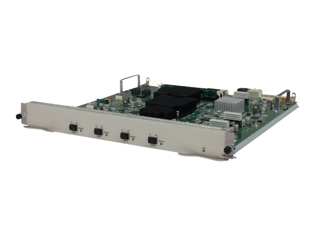 HPE HSR6800 4-Port 10GbE SvcAgg Platform Router Module, JG366A, 30602361, Network Device Modules & Accessories