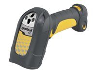 Zebra Symbol LS 3408FZ Handheld Scanner, Industrial, Multi-Interface, Corded, CL2 and Intel, Yellow Black, LS3408-FZ20135R, 12026890, Bar Code Scanners