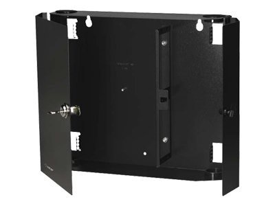 Black Box Fiber Wall Cabinets, Unloaded, Open 24-Port (Accepts 4 Adapter Panels), JPM401A-R2, 5592797, Premise Wiring Equipment