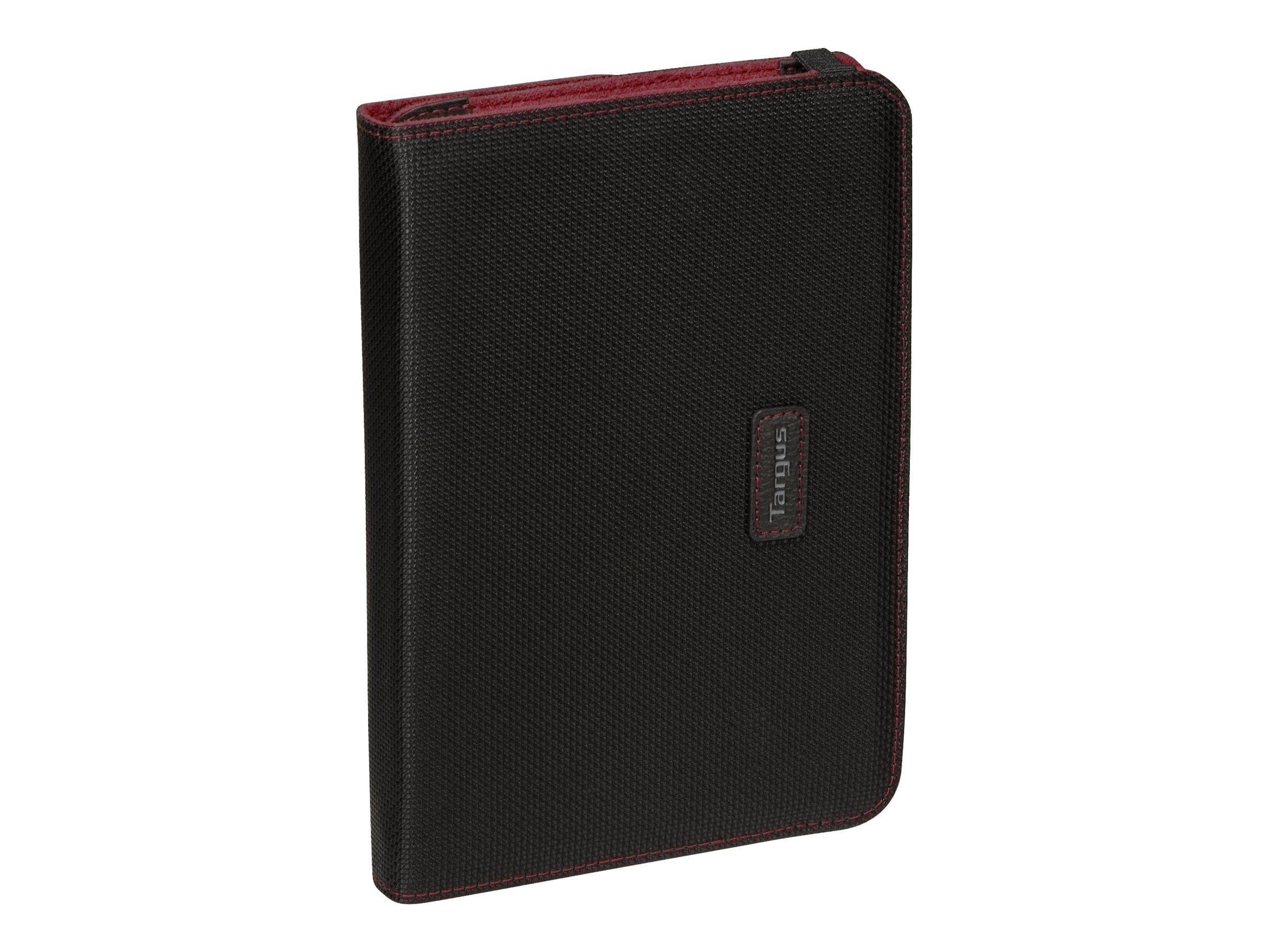 Targus Truss Nylon Case Stand for BlackBerry PlayBook, Black Red, THZ052US, 12920568, Carrying Cases - Phones/PDAs