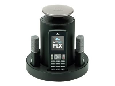 Revolabs FLX2 Wireless Conference Phone System with 2 Omni Microphones, 10-FLX2-200-POTS