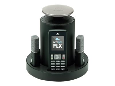 Revolabs FLX2 Wireless Conference Phone System with 2 Omni Microphones, 10-FLX2-200-POTS, 13255467, Audio/Video Conference Hardware