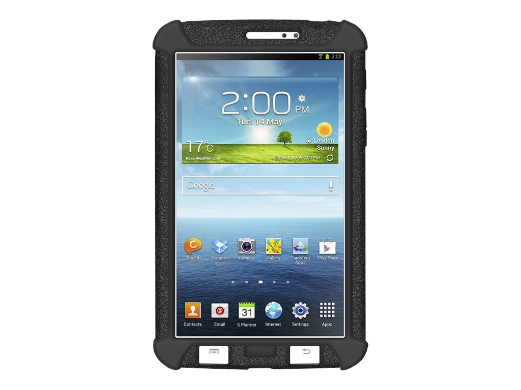 Amzer Silicone Skin Jelly Case for Samsung Galaxy Tab 3.7, AMZ96081