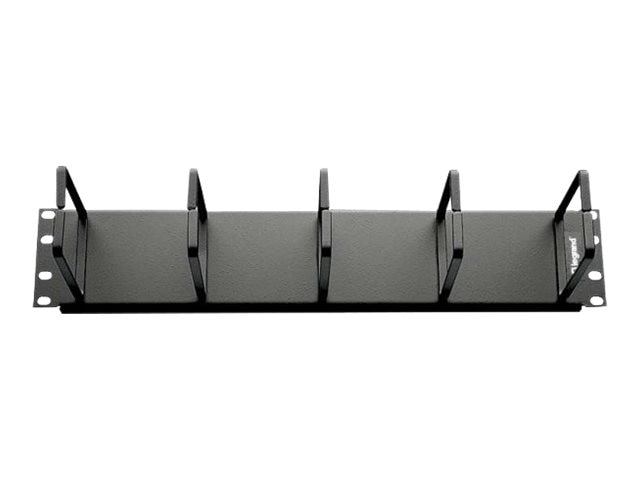 C2G 2U Horizontal Cable Management Panel with (5) D-Rings, 14594, 30920705, Rack Cable Management