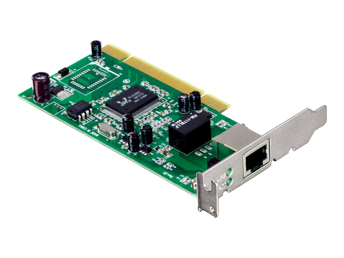 TRENDnet Low Profile Gigabit PCI Adapter, TEG-PCITXRL, 11638974, Network Adapters & NICs