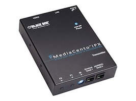 Black Box MediaCento IPX PoE Multicast Transmitter, VX-HDMI-POE-MTX, 16339797, Video Extenders & Splitters