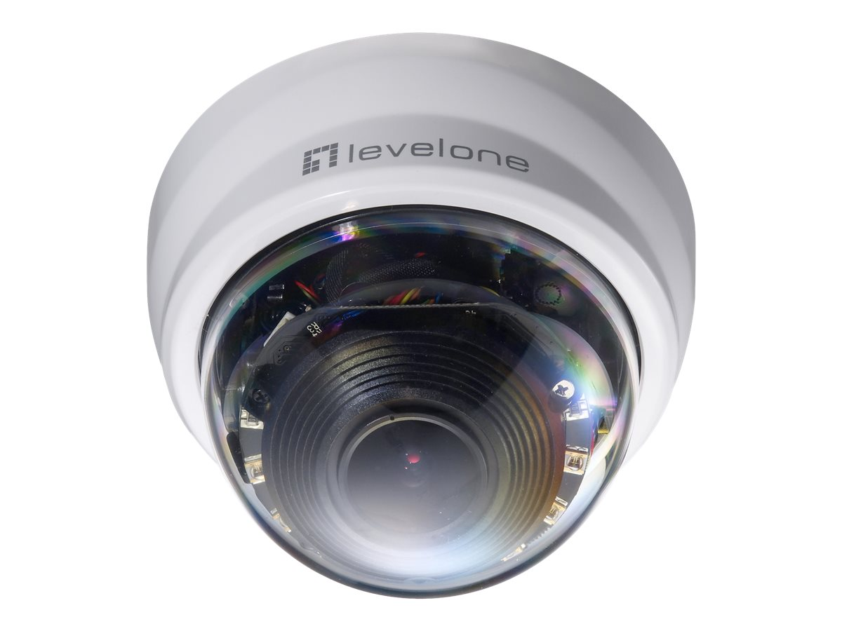 CP Technologies LevelOne 2MP Day Night Dome Network Camera, FCS-4201
