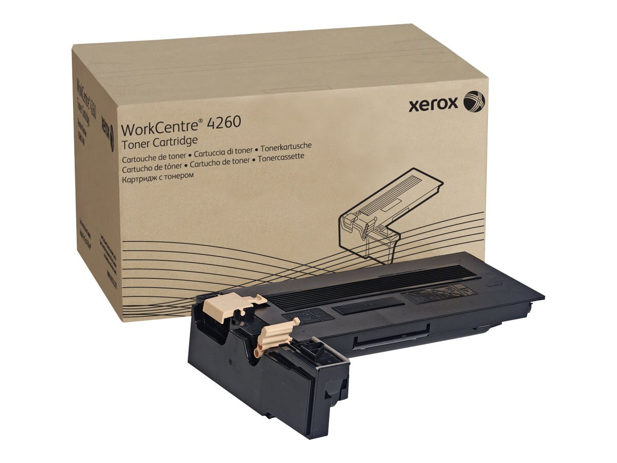 Xerox Black Toner Cartridge for Work Centre 4260 Series, 106R01409, 8979794, Toner and Imaging Components
