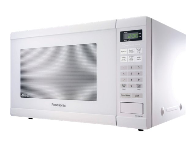 Panasonic NN-SN651W 1.2 Cubic Ft Microwave Oven, White, NN-SN651W, 13537579, Home Appliances